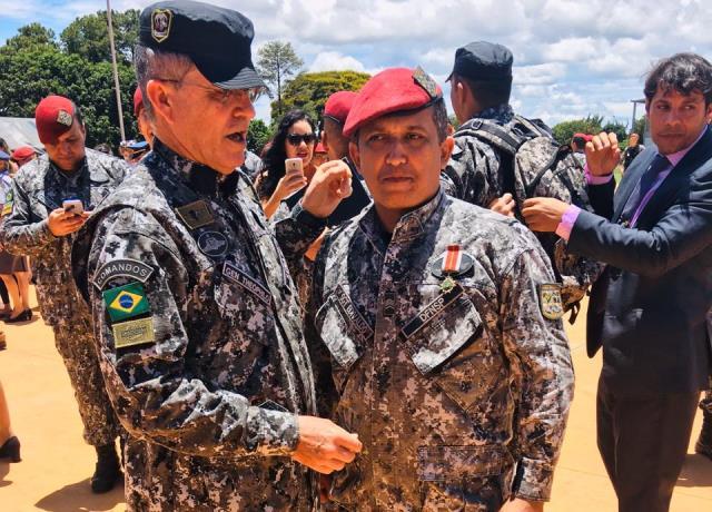 Policial Militar Natural de José de Freitas é Homenageado em Brasília
