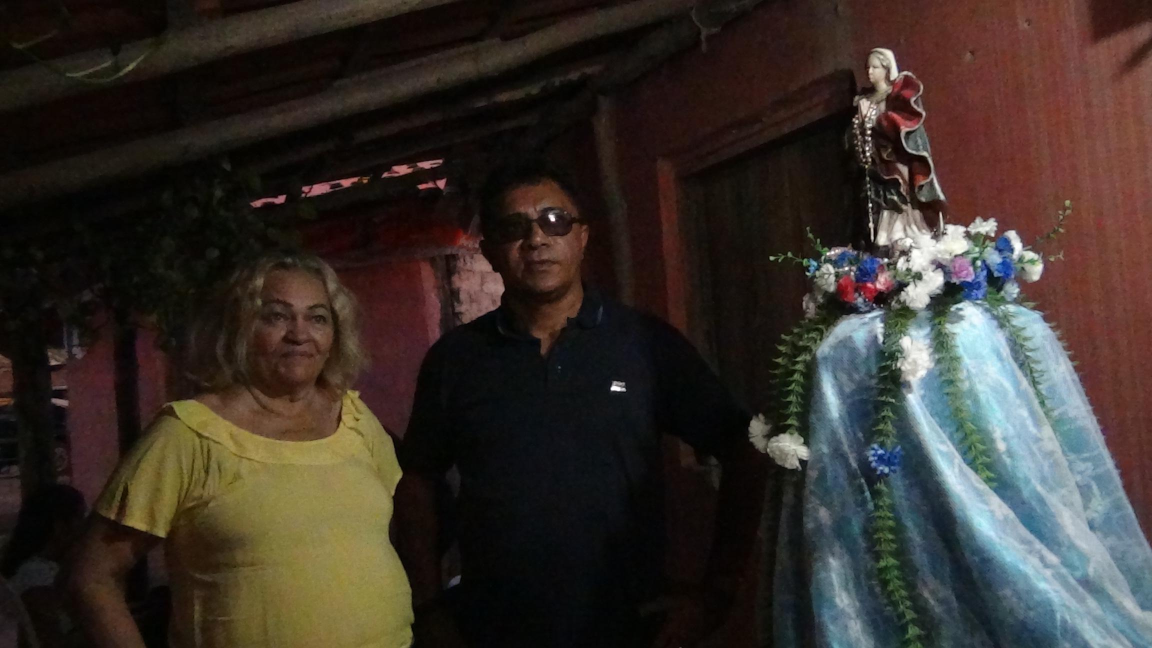 Diretor do grupo Advogados Associados João Araújo participa da abertura dos festejos na Comunidade Soledade em Altos