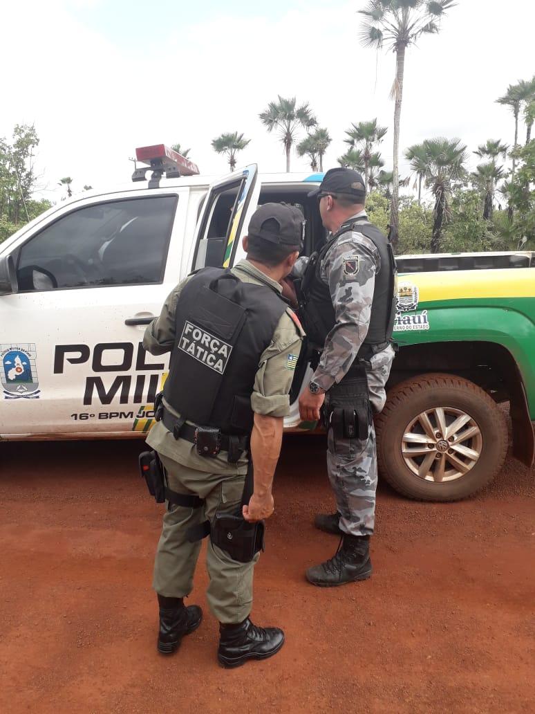 Integrante de quadrilha é preso em José de Freitas após realizar assalto em Campo Maior