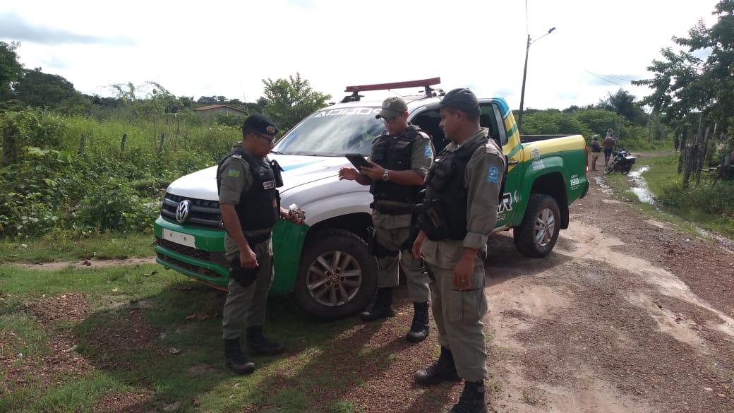 Polícia de José de Freitas recupera Carro tomado de assalto em Lagoa Alegre