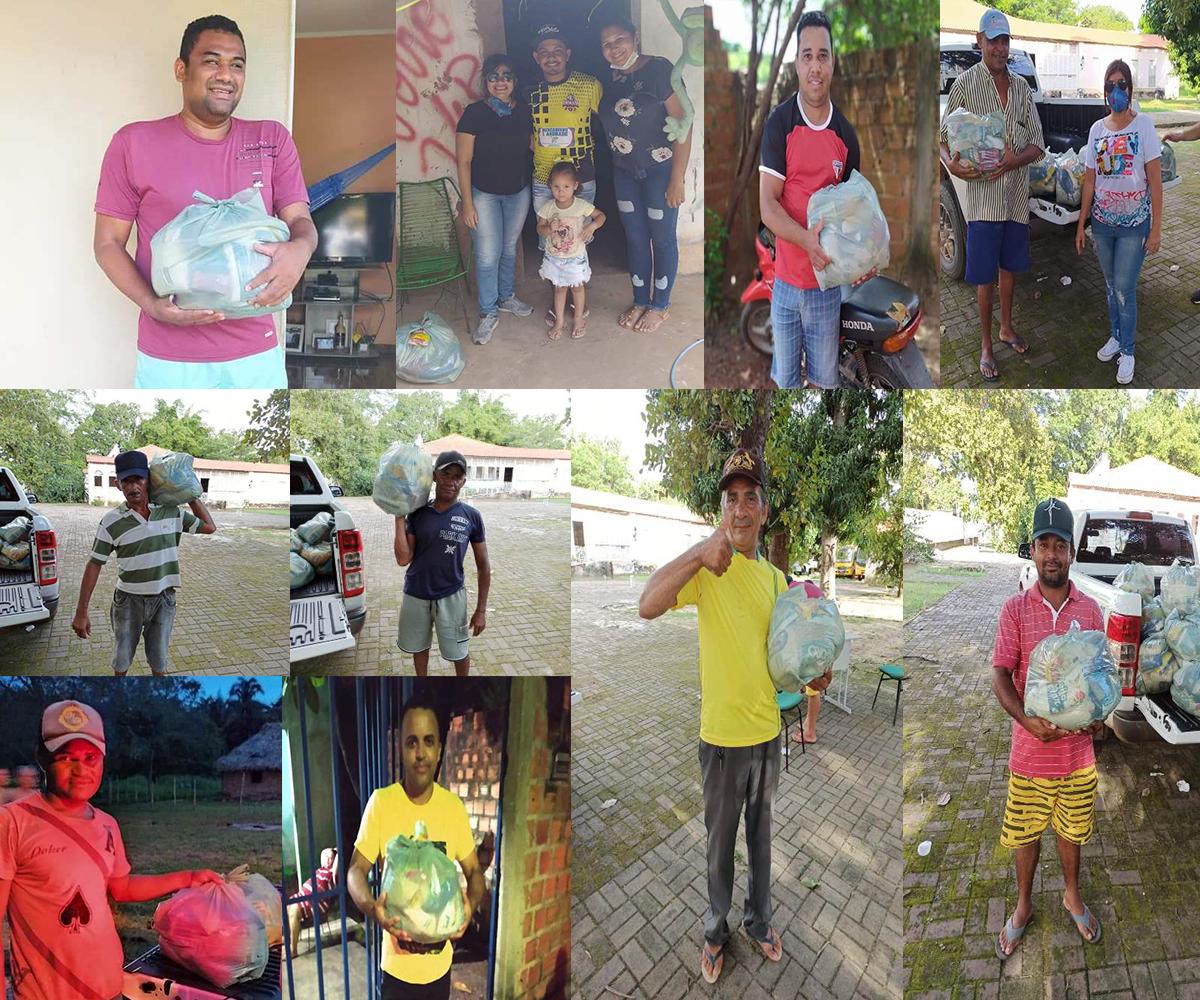 José de Freitas: Prefeitura faz entrega de cestas básicas para famílias vulneráveis por conta do Coronavírus