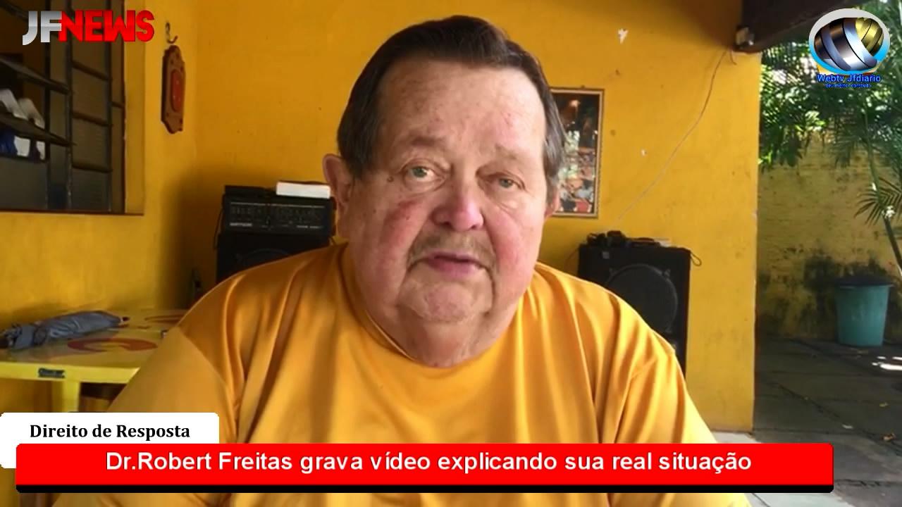 Direito de Resposta: Ex-prefeito de José de Freitas Robert Freitas grava vídeo explicando sua real situação