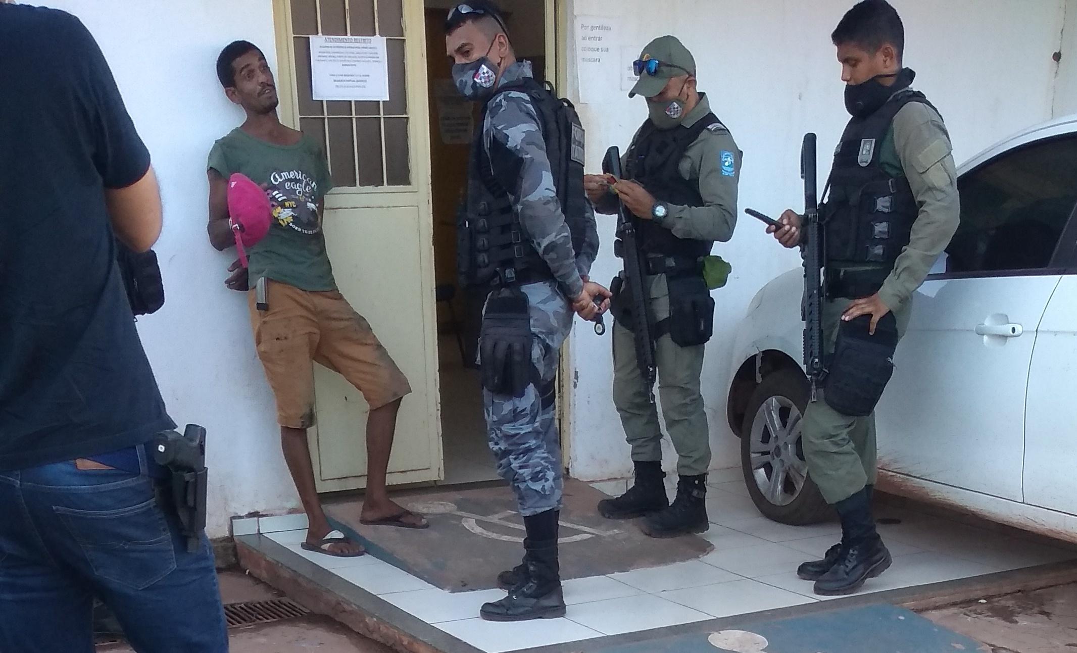 Homem é preso acusado de arrombar duas residências em José de Freitas